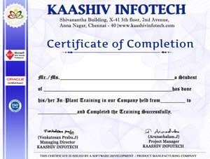 Best inplant training in chennai for mechanical student inplant training certificate thecheapjerseys Choice Image
